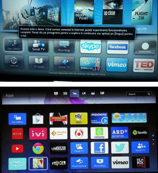 Televizor-LED-Smart-TV-Philips-40PFH4509-aplicatii