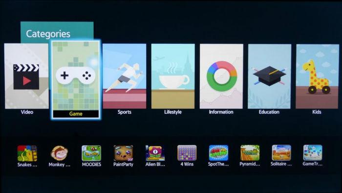 aplicatii smart samsung 40h5500
